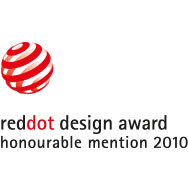 reddot design award honourable mention 2010